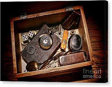 Pioneer Keepsake Box Canvas Print by Olivier Le Queinec