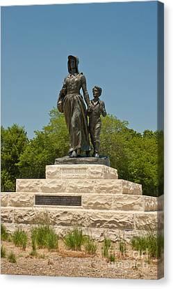 Pioneer Woman Statue, Oklahoma Canvas Print