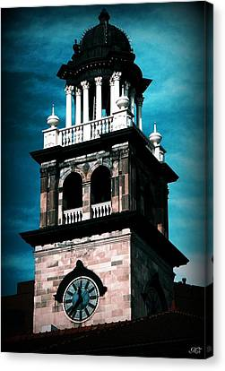 Canvas Print featuring the photograph Pioneers Museum by Michelle Frizzell-Thompson