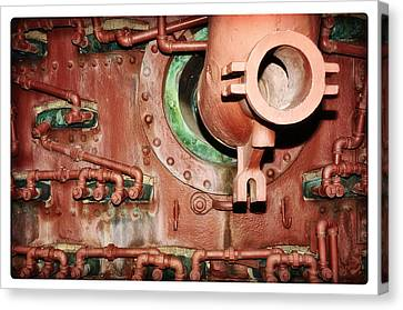 Pipe Maze Canvas Print by Davina Washington