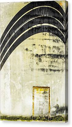 Piped Abstract 4 Canvas Print by Carolyn Marshall