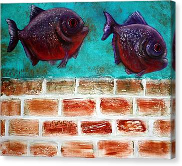 Piranha Canvas Print by Laura Barbosa