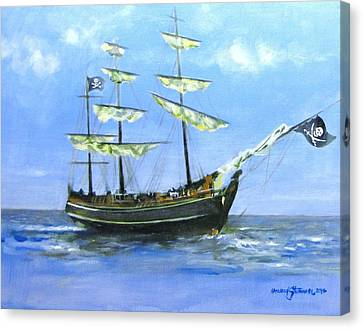 Pirate Canvas Print by Howard Stroman