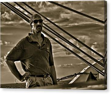 Pirate Of The Keys Canvas Print by Perry Frantzman