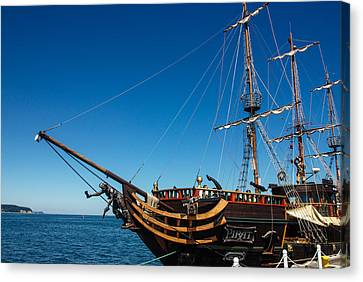 Pirate Ship Canvas Print by Pati Photography