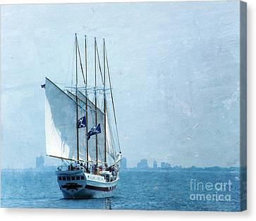 Pirate Ship Canvas Print by Sophie Vigneault