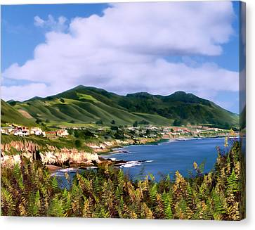 Pirates Cove Canvas Print by Kurt Van Wagner