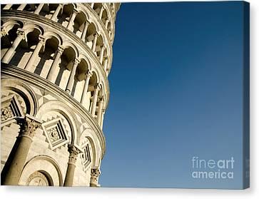 Pisa Tower Canvas Print by Mats Silvan