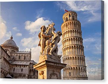 Pisa's Leaning Tower Canvas Print by Brian Jannsen