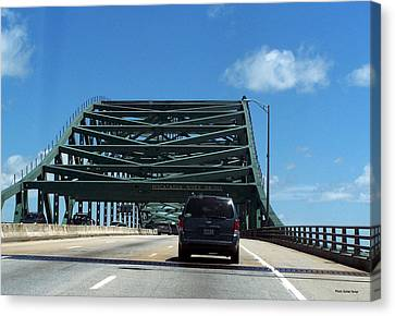 Piscataqua River Bridge Canvas Print
