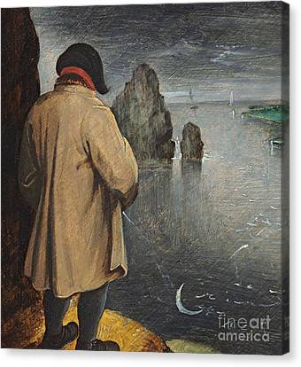 Pissing At The Moon  Canvas Print