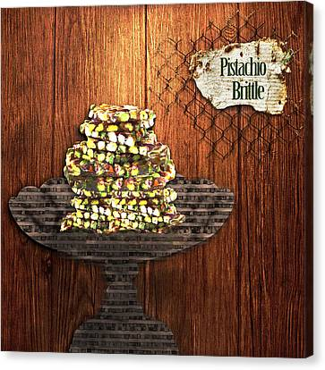 Pistachio Brittle Canvas Print