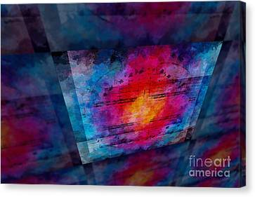Pitch Space 3 Canvas Print