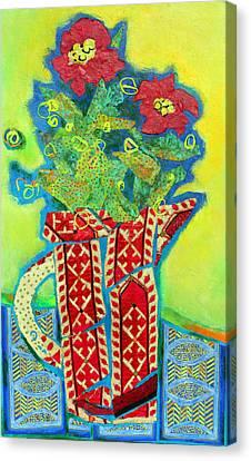 Canvas Print - Pitcher Patterns by Diane Fine