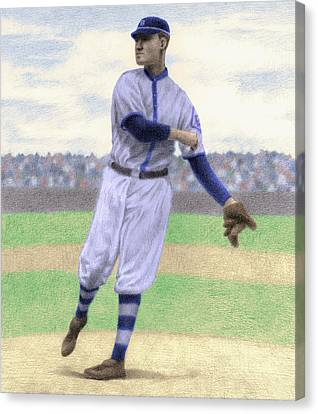 Pitcher Canvas Print by Steve Dininno