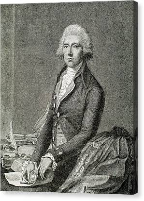 Pitt, William (london 1708-hayes, 1778 Canvas Print by Prisma Archivo