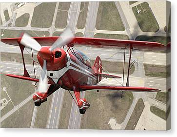 Framed Canvas Print - Pitts Special S-2b by Larry McManus
