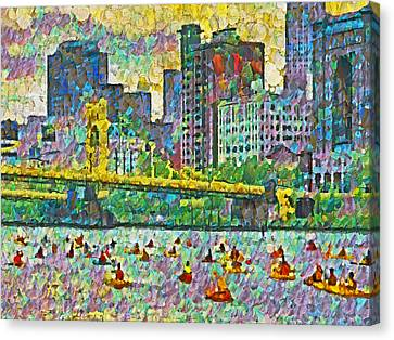 Pittsburgh Adventure Race Canvas Print