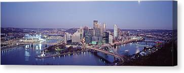 Pittsburgh Pa Canvas Print