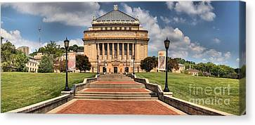Pittsburgh Soldiers And Sailors Memorial Canvas Print by Adam Jewell