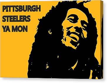 Pittsburgh Steelers Ya Mon Canvas Print