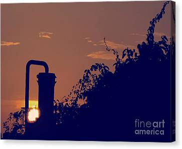 Pittsburgh Sunset  Canvas Print by Charlie Cliques