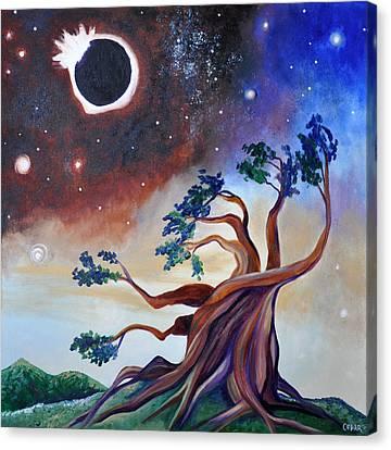 Pivotal Moment Canvas Print by Cedar Lee