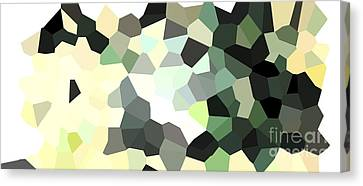 Pixel Money Canvas Print