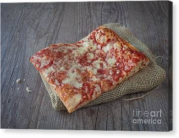 Pizza Slice Canvas Print by Sabino Parente