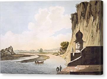 Pl. 26 A View Of The Gaut At Etawa Canvas Print