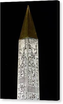 Place De La Concorde Obelisk Canvas Print