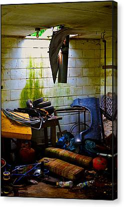 Place For My Stuff Canvas Print by Jeffrey Platt