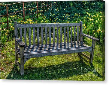Place To Rest Canvas Print by Adrian Evans