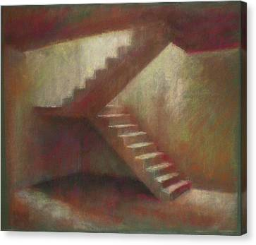 Place With Stairs Canvas Print