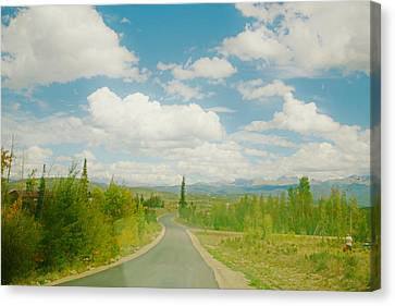 Canvas Print featuring the photograph Places To Go And Things To Do by Shirley Heier