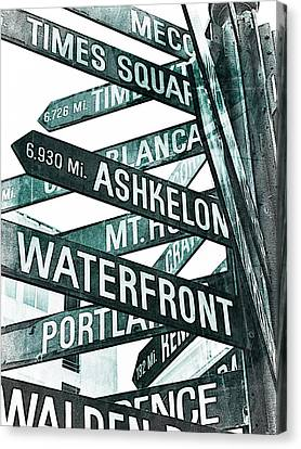Places To See Canvas Print by Cathie Tyler