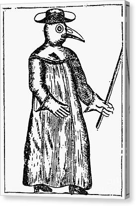 Plague Costume, 1720 Canvas Print by Granger