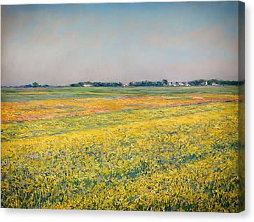 Gennevilliers Canvas Print - Plain Of Gennevilliers by Mountain Dreams