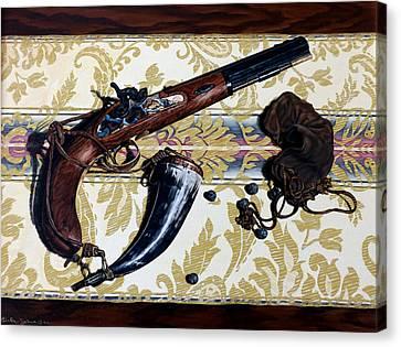 Plains Pistol Canvas Print