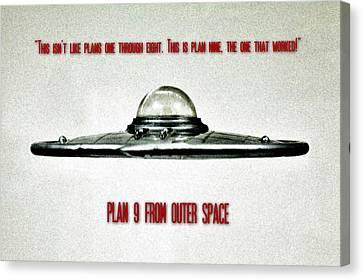 Plan 9 Seinfeld Canvas Print