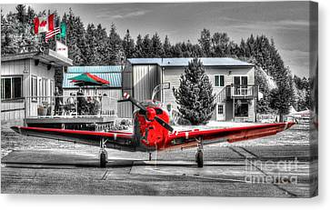 Flying To Lunch In Pacific Northwest Washington  Canvas Print by Tap On Photo