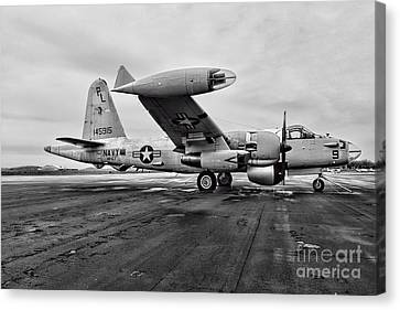 Plane - P2v-7 Neptune Aircraft Canvas Print by Paul Ward