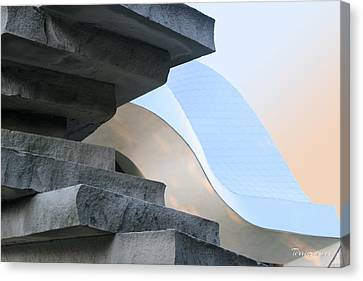 Planes And Curves Canvas Print by Terri Harper
