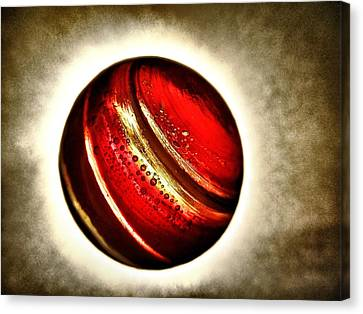 Planet Passion - My Little Planets Series  Canvas Print by Marianna Mills