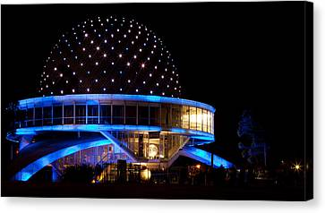 Canvas Print featuring the photograph Planetarium by Silvia Bruno