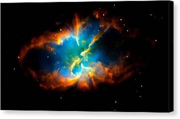 Planetary Nebula Canvas Print by Amanda Struz