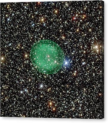 Planetary Nebula Ic 1295 Canvas Print