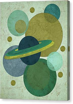 Planets I Canvas Print by Shanni Welsh