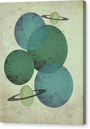 Planets II Canvas Print by Shanni Welsh