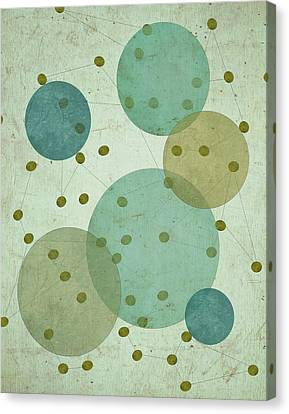 Planets IIi Canvas Print by Shanni Welsh
